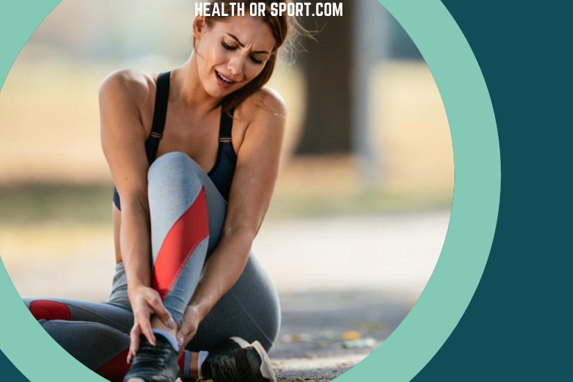 An injured athlete