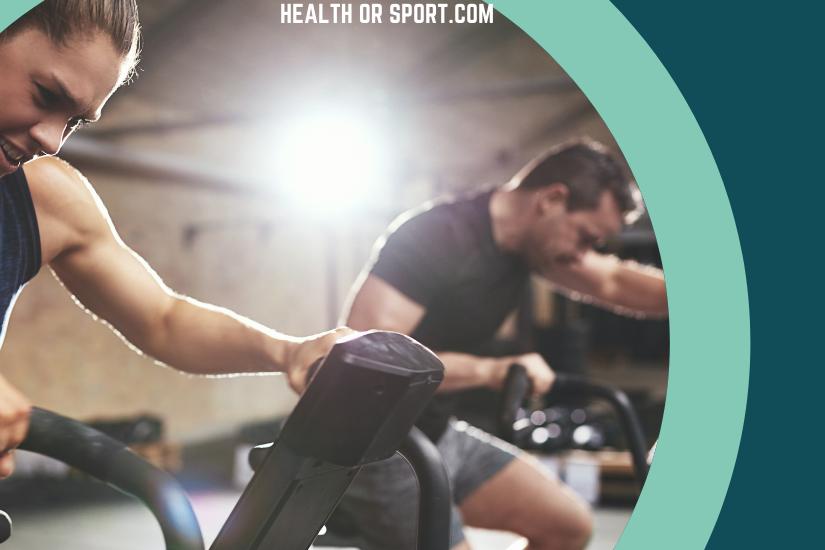 Athlete doing Cardio Exercise
